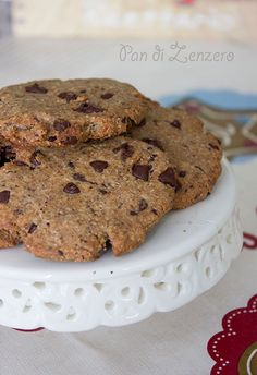 cookie senza zucchero