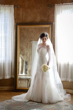 Beautiful Bride at Chateau Polonez in Houston, Texas.