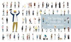 Illustration set of human avatar vector Free Vector Free Vector Illustration, Creative Illustration, Pencil Illustration, Graphic Illustration, Illustrations, Avatar, Ui Design, Archi Design, Graphic Design
