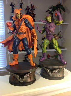 1st Pics: Bowen Designs Green Goblin Statue by Thanos 13 - STATUE M A R V E L S