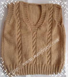 Örgü Erkek Bebek Süveteri Baby Sweater Knit Men açıklama burada:http://www.marifetane.com/2013/03/orgu-erkek-bebek-suveteri-baby-sweater.html