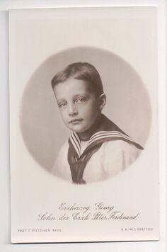 Vintage Postcard Archduke Georg of Austria Prince of Tuscany   eBay