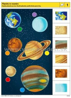 Con visión parcial unimos al dibujo completo Autism Activities, Montessori Activities, Preschool Learning, Sequencing Cards, Montessori Materials, Educational Toys For Kids, Space Theme, My Little Baby, Science Fiction Art