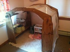 Waldorf Style Playstands with Canopy Tutorial -blueprints included