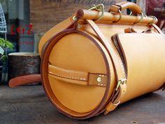 Leather Craft Pattern Bucket Bag Pattern Paper BXK 23 Leathercraft Template | eBay