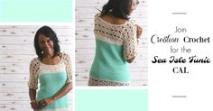 Extra, Extra, read all about it…. Hi, I am so glad you have joined us to make this fun and flirty crochet tunic.  This top is perfect for someone making a garment for the first time.  It offers easy to follow directions and simple construction. The Sea Isle tunic is created in two panels, back [...]