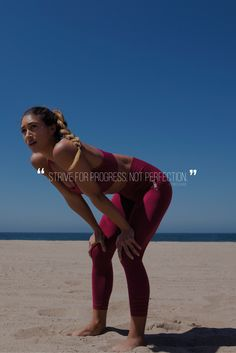 Strive for progress not perfection - Motivational quote. #fitnesspal,