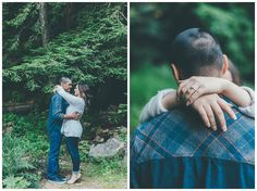 Danyelle Dee Photography - Redwood Forrest Engagement Session - Santa Cruz Mountains