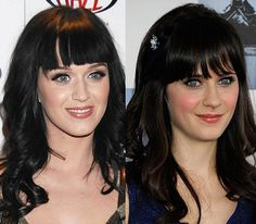 Separated at Birth: Katy Perry and Zooey Deschanel