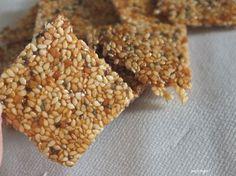 Domowe sezamki (sezam + nasiona chia) - Blogi - Ekorodzice.pl
