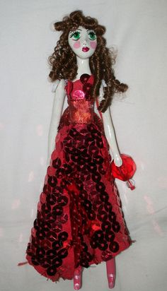 art doll by Dame Darcy