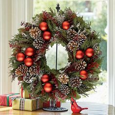 Gumps, Season's Greetings Wreath, $100 on sale for $80