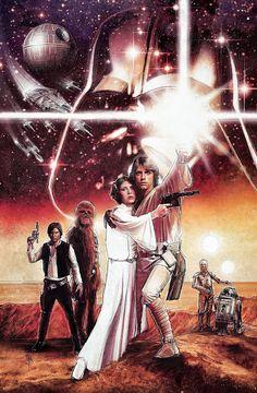 'Star Wars: A New Hope' by Paul Shipper