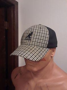 Hats · Kangol Flexfit Baseball. Black Grey Plaid Pattern. (size L XL) 57fec1882d33