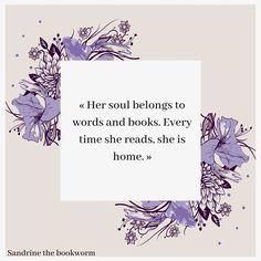 Citation – Sandrine the bookworm