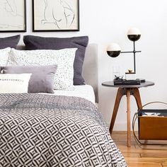 Designer Emily Henderson used a little paint, a staple gun, fabric, batting, and foam to reupholster IKEA's Tarva bed. The simple and inexpensive makeover makes the bed, which has a slatted...