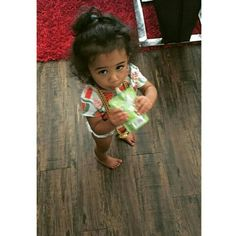 Chris brown's daughter Royalty brown !
