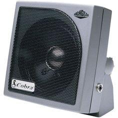 HighGear(R) Noise-Canceling External Speaker - COBRA ELECTRONICS - HG S300