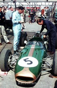 Jack Brabham at Brands Hatch 1964