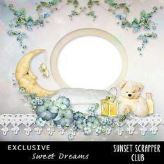 Sweet Dreams Quickpage 1 - Digital Scrapbooking Kits for the Perfect Digital Scrapbook