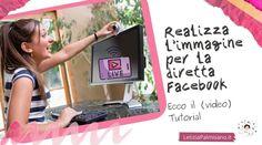 """***Copertine per #direttefacebook (come realizzare l'#immagine in pochi minuti!)*** Da quanto ho realizzato il tutorial per le dirette facebook 🎥 sono esplose le domande 😅. A quelle più ricorrenti cerco di rispondere con post e tutorial! Oggi rispondo a: """"Come si può realizzare l'immagine 🖼️per le copertine fotografiche delle dirette programmate 🤳🏻?"""". È più semplice di quel che si pensi. Ecco come ⤵️ Tutorial, Social Media Marketing, Videos, Facebook, Video Clip"""
