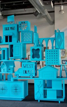 INSPIRATION FROM PINTEREST FOR OFFICES THAT STIR CREATIVITY by Fast Company on 10.22.13
