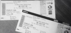 My ticket to 1D concert in Vienna  I can't believe!