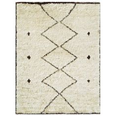 Hand-Knotted Moroccan Area Rug > Design# > Size: x Shop handmade area rugs from Carpet Culture, get the best rug deal. Beige Area Rugs, Wool Area Rugs, Moroccan Area Rug, Natural Rug, Cool Rugs, Colorful Rugs, Rug Size, Vintage Rugs, Bohemian Rug