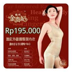 Monalisa Slim Suit Infra Red Rp195.000  Monalisa - Asli Japan Technology!!! READY BEIGIE (FREE SIZE)Terdiri dari 3 sliming suit, ( atasan, celana pendek, celana dalam) . mengandung INFRA RED FIR yg efektif membakar lemak dan melancarkan aliran darah sangat baik untuk program pelangsingan anda dan menjaga kesehatanbahan terbuat dari nylon haluskorset pelangsing dengan infra merah sama seperti di TV ( JACO SINDO) adalah model lapisan pakaian dalam dengan tehnologi infra merah ( fir) , yang…