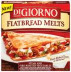 I'm learning all about Digiorno Flatbread Melts at @Influenster!