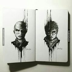 Lord Voldemort Harry Potter . . . #artforgeeks