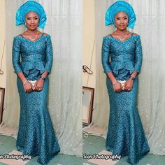Aso Ebi Styles That Stole The Show At Nigerian Parties in ...