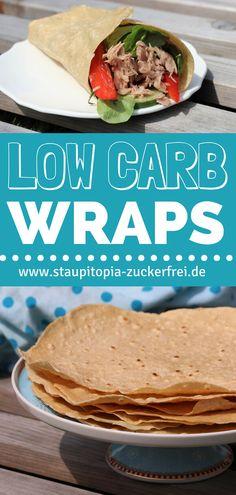Das Rezept für diese Low Carb Wraps ist wirklich fantastisch, denn diese selbstgemachten Low Carb Wraps machen ihren kohlenhydrat-reichen Pendant ernst zunehmende Konkurrenz. Du kannst sie wirklich vielseitig einsetzen. Ich liebe sich vor allem als Snack für Zwischendurch oder zum Abendessen, meist individuell gefüllt und ganz davon abhängig, was mein Kühlschrank gerade hergibt. #lowcarb #wraps #ohnekohlenhydrate