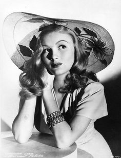 Well I Can't Make Love To A Bush! — classic-hollywood-glam:   Veronica Lake