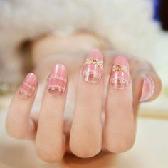 Cute Korean Nail Art - http://www.mycutenails.xyz/cute-korean-nail-art.html