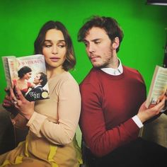 Who is excited for the movie tie-in edition of #MeBeforeYou?! #Regram from @Emilia_Clarke