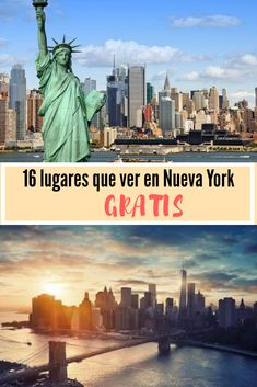 Lugares gratis en Nueva York Living In New York, Work Travel, New York Travel, Where To Go, Wonderful Places, New York City, New York Skyline, Places To Visit, Around The Worlds