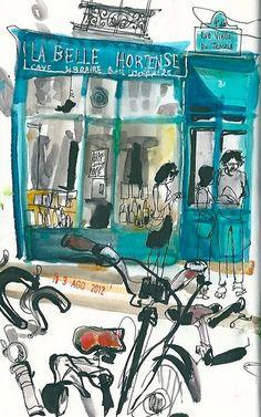 Sketch de Inma Serrano