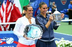 Italy's Flavia Pennetta said goodbye to the sport in dramatic fashion Saturday at the US Open, claiming her first Grand Slam title in the final match of her career. - 2015 US Open Tennis Championships.  Refreshing, gracious and humble the ladies from Italy were the bright shining stars of the US Open. Congratulations to both!