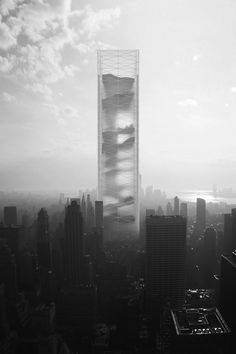 This Future Skyscraper Houses a Desert, a Jungle, a Glacier, and More   The Creators Project