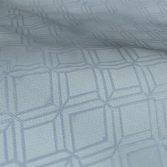 A diamond geometric patterned fabric in a blue colour from Prestigious Sky Lamp, Made To Measure Blinds, Prestigious Textiles, Custom Curtains, Roman Blinds, Beautiful Sky, Atrium, Illusions, Fabric