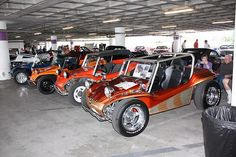 Attending a Petersen Museum event with Bruce Meyers and friends from the Manx Dune Buggy Club