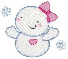 Snow Baby Blanket