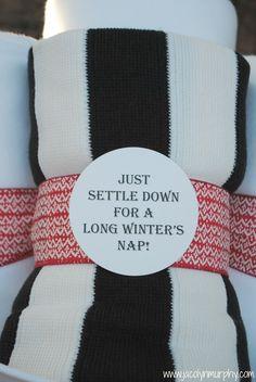 Jac o' lyn Murphy: Sleep on it!... Cozy Holiday Gifts