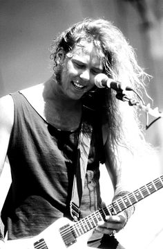 Metallica- James Hetfield.