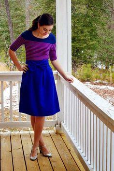 blueberry skirt