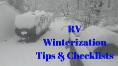 Make sure your luxury fifth wheel or toy hauler is ready to go for hibernation with this basic RV winterization checklist! 5th Wheel Rv, Fifth Wheel Trailers, Rv Camping, Camping Hacks, Luxury Fifth Wheel, Rv Tips, Rv Hacks, Diy Camper, Toy Hauler