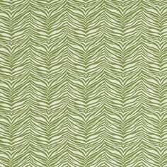 Green zebra print fabric #upholstery