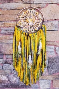Bohemian Doily Dreamcatcher in Nyiri  Sunset.. Vintage doily glitter hand-dipped feathers nursery decor boho decor teen room decor (30.00 USD) by DesertMermaidStore