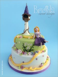 Lavoro Cake Design Torino : 1000+ images about Rapunzel Cakes on Pinterest Rapunzel ...